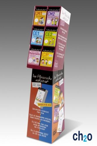 PLV présentoir carton