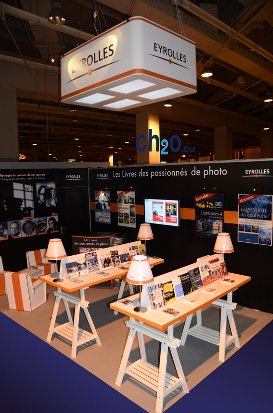Création, fabrication et installation de stand d'exposition