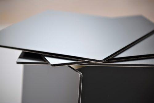 dibond plv composite aluminium pour présentoir plv display