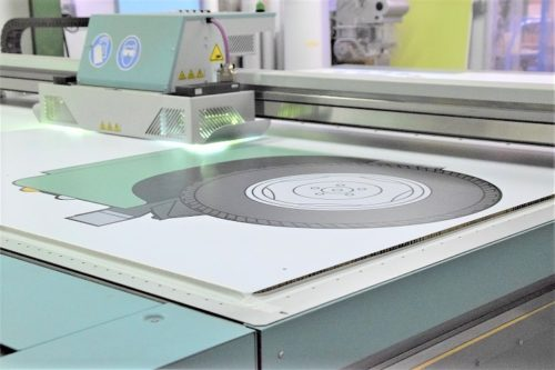 impression numérique pour la PLV, présentoir display